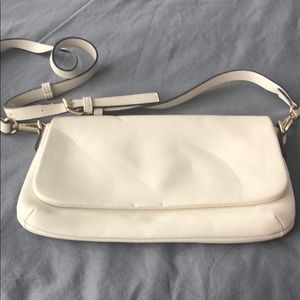 Old Navy White Crossbody Purse